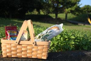 Slice Wood Basket